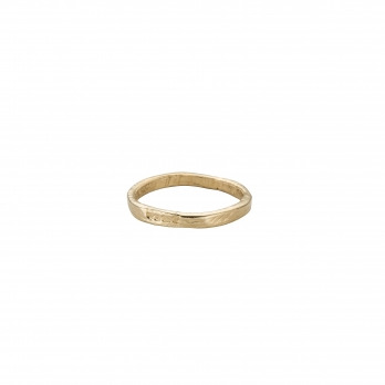 Ladies Gold Mini Posey Ring