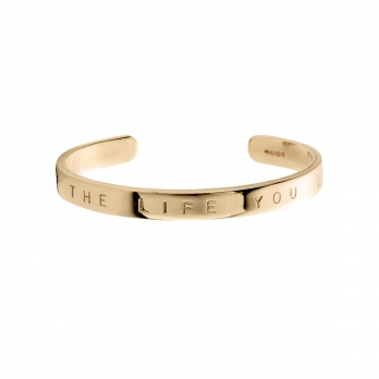 Gold Luxury Signature Bangle
