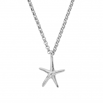 Silver Maxi Starfish Necklace