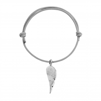 Silver Midi Angel Wing Sailing Rope
