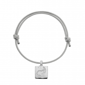 Silver Medium Capricorn Horoscope Sailing Rope