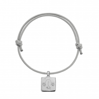 Silver Medium Libra Horoscope Sailing Rope