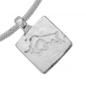 Silver Taurus Horoscope Sailing Rope detailed