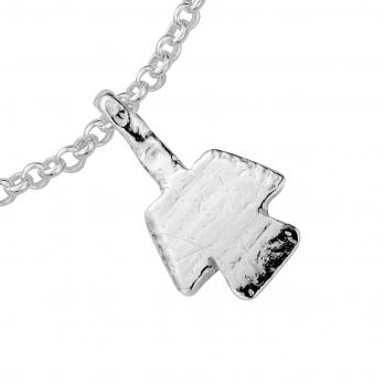 Silver Mini Angel Chain Bracelet detailed