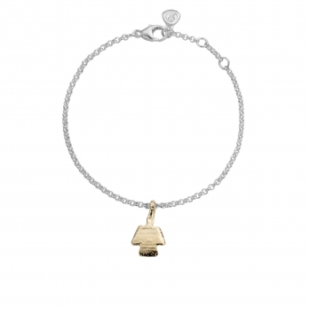 Silver & Gold Mini Angel Chain Bracelet