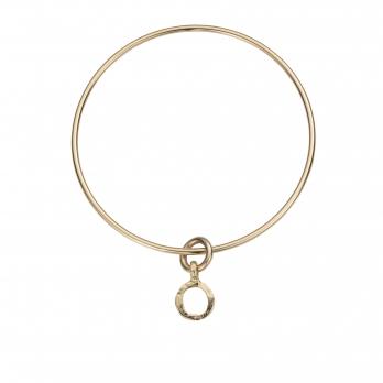 Gold Mini Open Circle Bangle