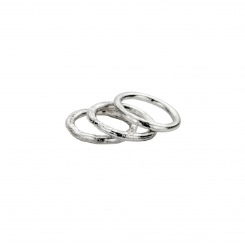 Silver Stack Ring Party