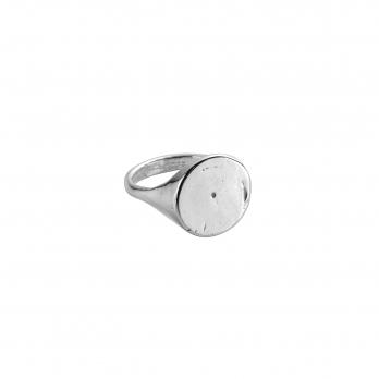 Silver Roman Signet Ring