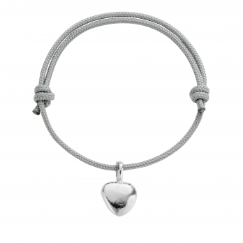 Silver Midi Grateful Heart Sailing Rope