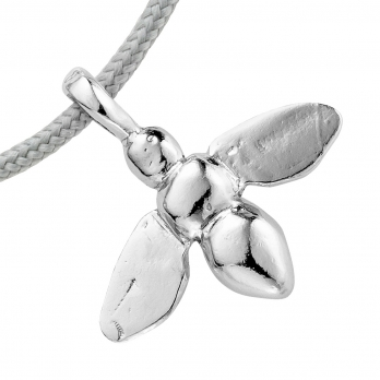 Silver Large Honey Bee Sailing Rope detailed