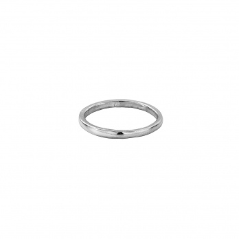 Simple Silver Wedding Band