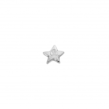 Silver Tiny Star Single Ear Charm