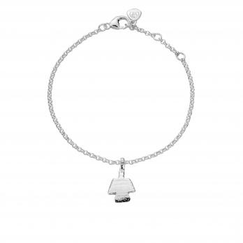 Silver Mini Angel Chain Bracelet