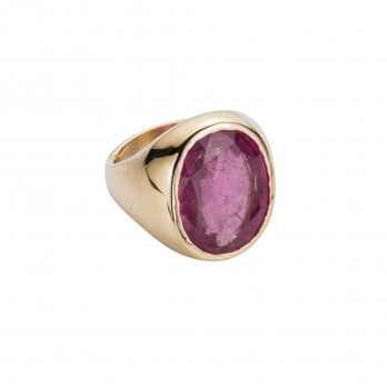 METIS Tourmaline Gold Ring
