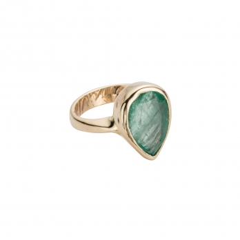 AGATHE Emerald Gold Ring