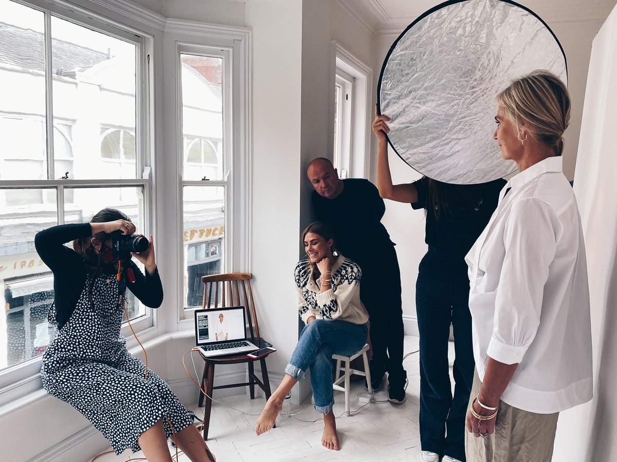 Behind the scenes of DD's winter 2020 campaign shoot
