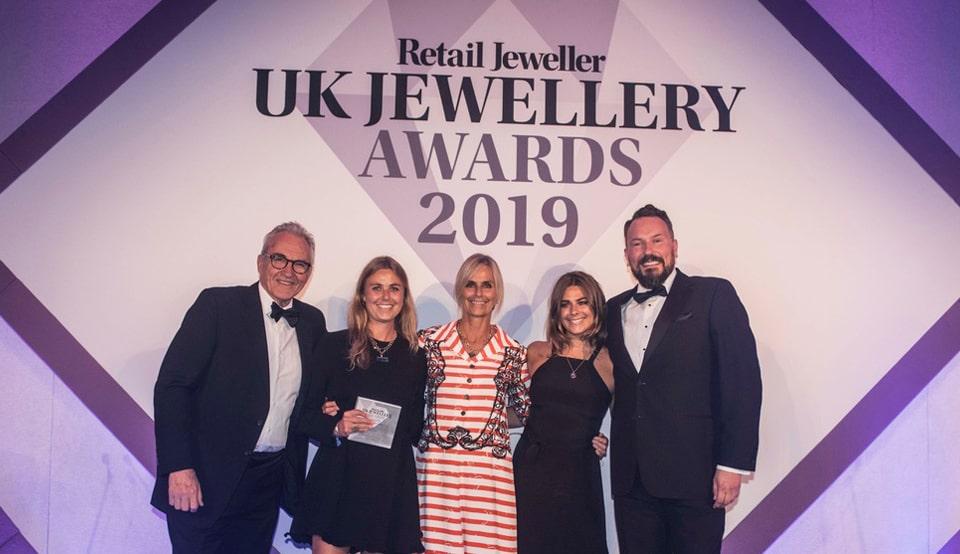 Daniella Draper, Winner of Best Multichannel Retailer Of The Year
